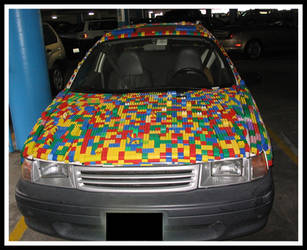 Lego car by metdude