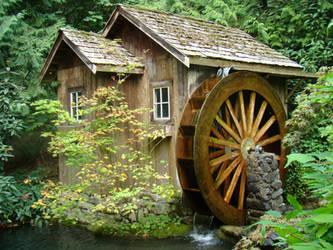 MG-Old Mill Waterwheel 6 by Talc-AlysStock