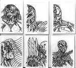 MARVEL CHARITY SKETCH CARDS