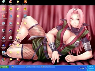 Sakura desktop by DSNG