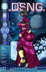 WANDAH, THE SEXY FEMALE KATARAN by DSNG