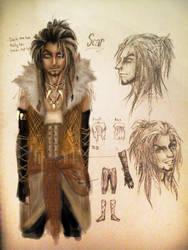 Scar_'Human form' by machui826