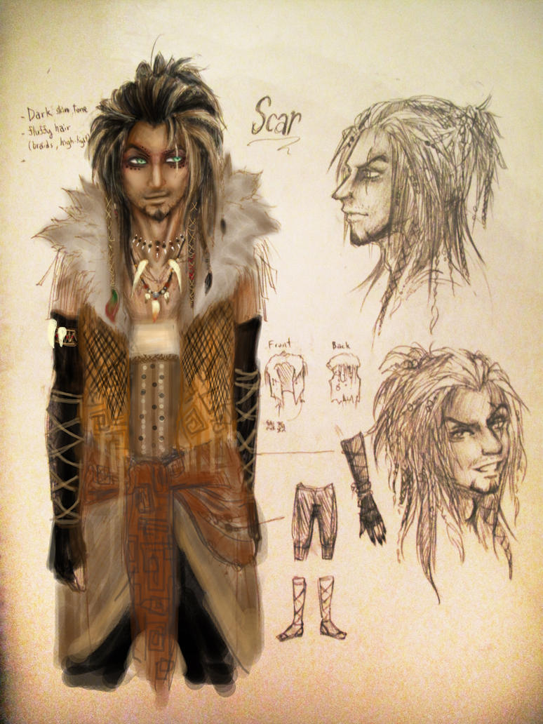 Scar_'Human form' by machui826 on DeviantArt