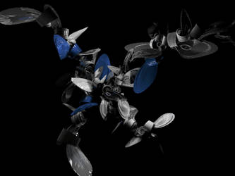 Blue Bolts by aeonflux707