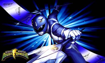 MMPR 2010 Blue Ranger by scottasl