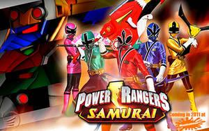 Power Rangers Samurai by scottasl