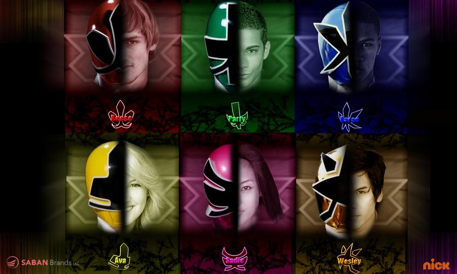 Pink Power Rangers Samurai Symbols