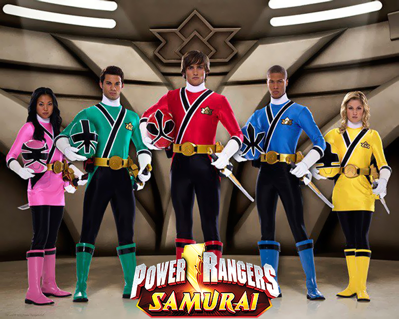 Power Rangers,todas las versiones.