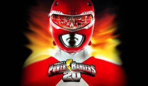 Power Rangers 20th Anniversary wallpaper by scottasl