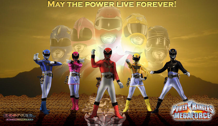 Power Rangers Megaforce 2nd Wallpaper By Scottasl