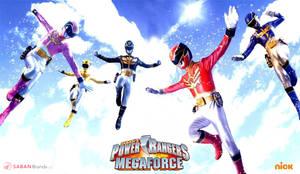 Power Rangers Megaforce 3rd Wallpaper by scottasl