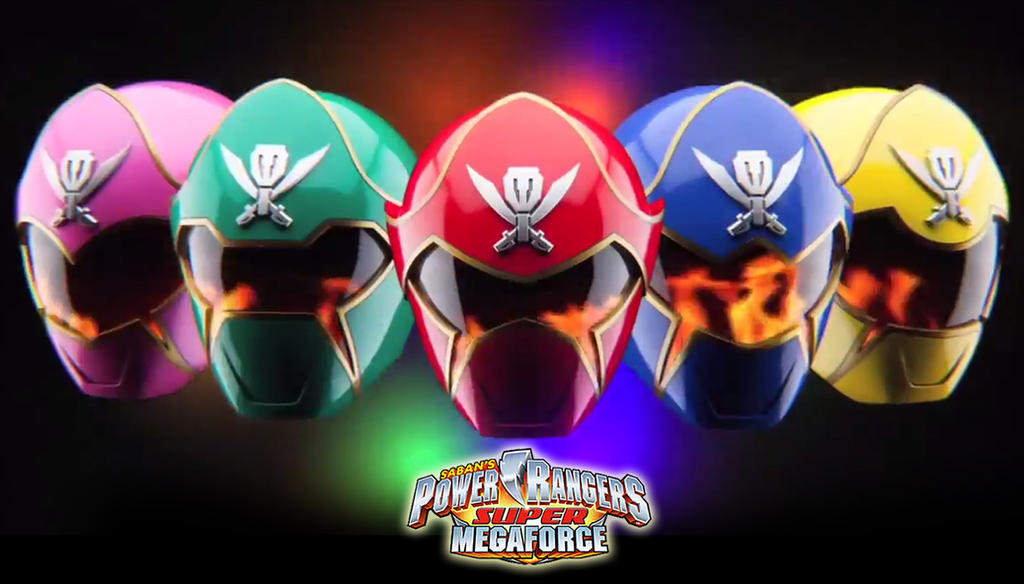 Power Rangers Super Megaforce wallpaper by scottasl on ...