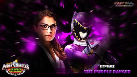 Kendall the Purple Ranger by scottasl