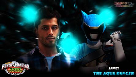 James the Aqua Rangers by scottasl