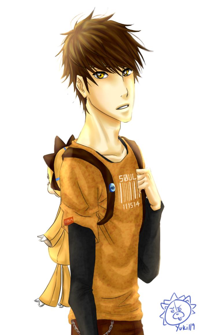 Human!Kon by Yuki119 on DeviantArt