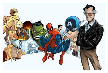 Stan Lee Origins by jUANy