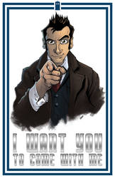 I Want You... 10th Doctor by jUANy