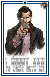 I Want You... 11th Doctor by jUANy