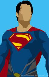 Deco/Minimalist/Polygon Superman by Amani-the-Wise