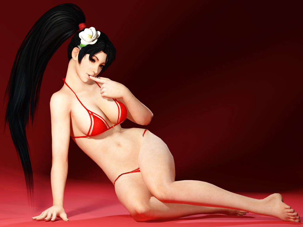 Momiji in dead or alive have sex