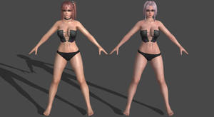 DoAX3 - Fuji - Pack #1 for XPS by DoraiBoonzu