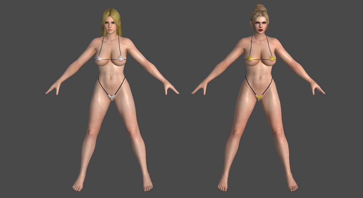 DoA5LR - Micro Bikini - Pack #1 for XPS! by DoraiBoonzu