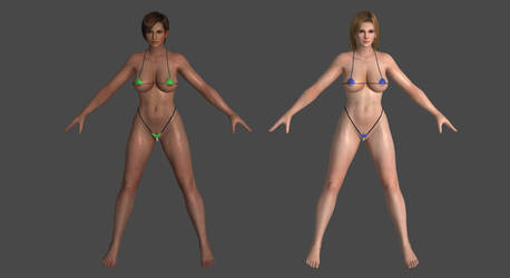 DoA5LR - Micro Bikini - Pack #2 for XPS! by DoraiBoonzu
