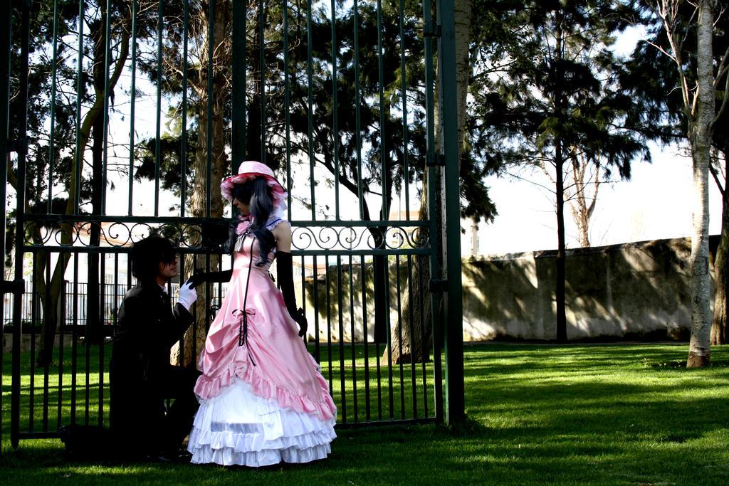 Lady and Butler by AkumaNekoLMD