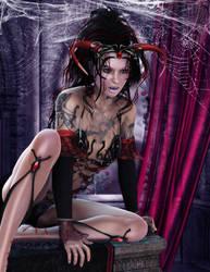 Vampire Mistress by miz-inthesky