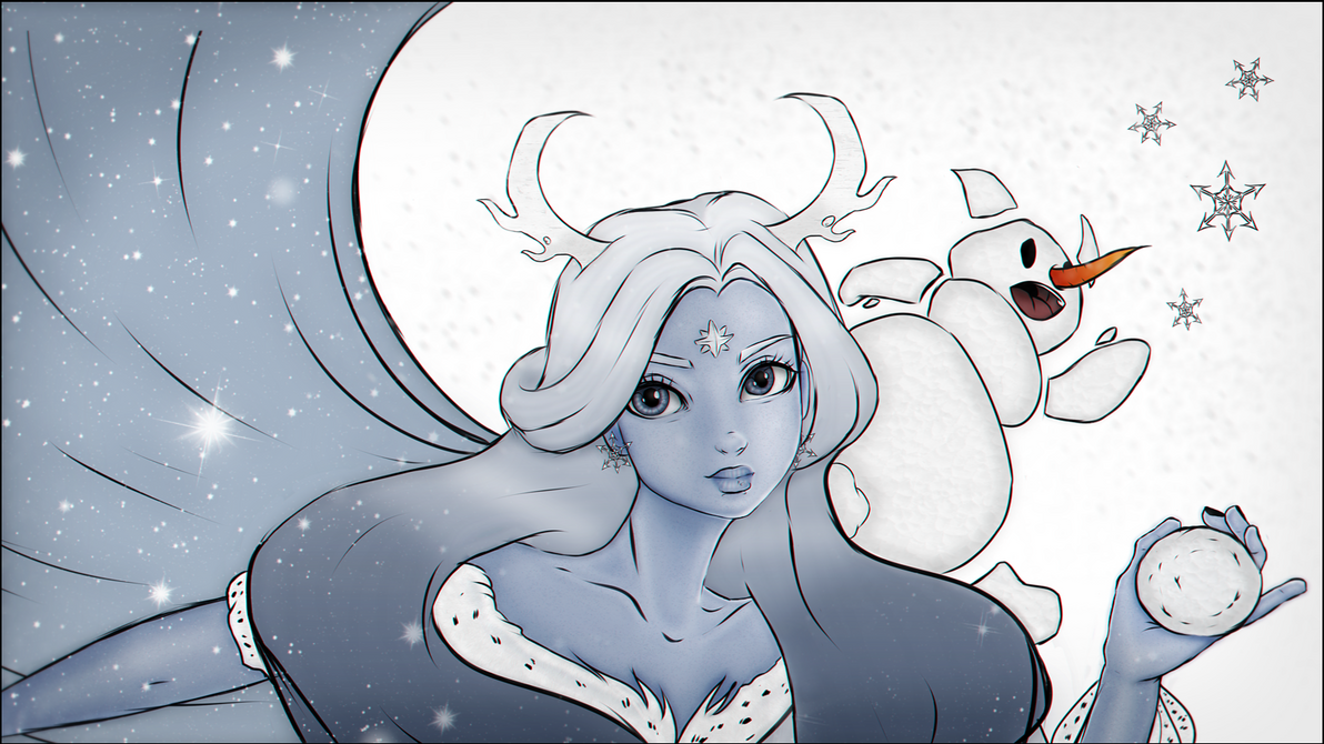 ~Snow Queen~ by miz-inthesky