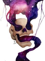 Skull Galaxy by VA2O