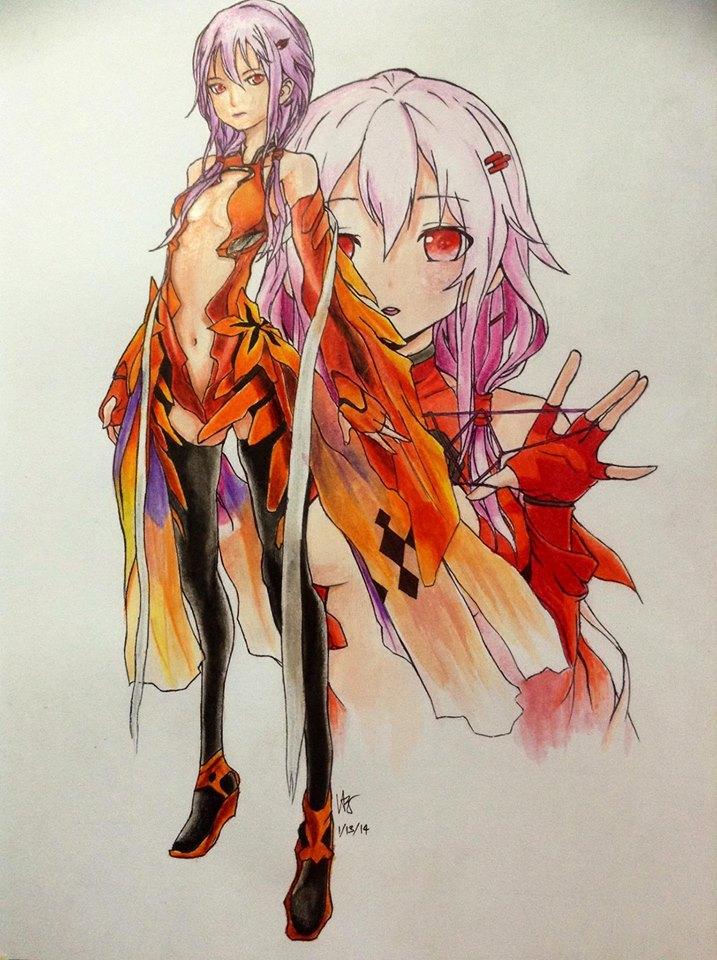 Inori Yuzuriha by VA2O