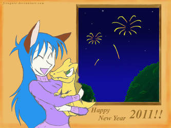 Happy New Year 2011 by firagare