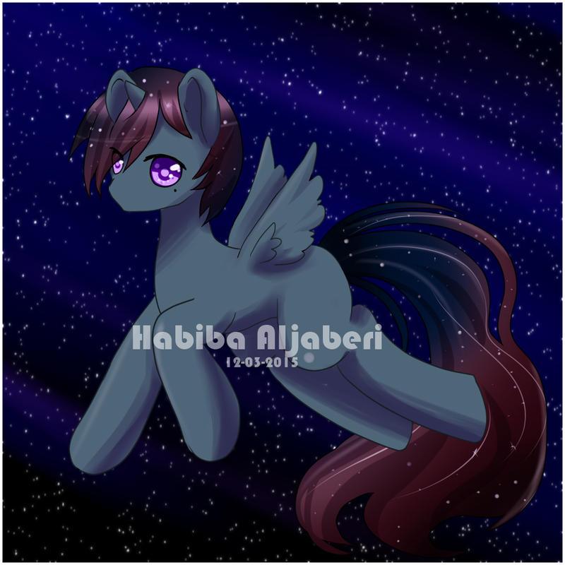 Space Stallion by lovelyfantasy