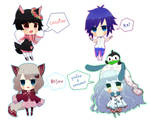 mini chibi commishes