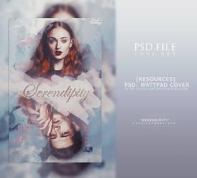Serendipity (PSD WATTPAD COVER) by lous-art