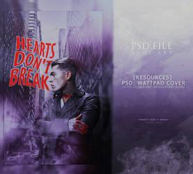 Hearts Don't Break (PSD WATTPAD COVER) by lous-art