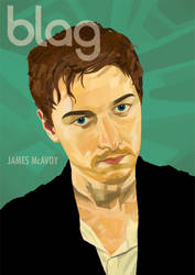 Blag James McAvoy Deconstruct by JeckHyde