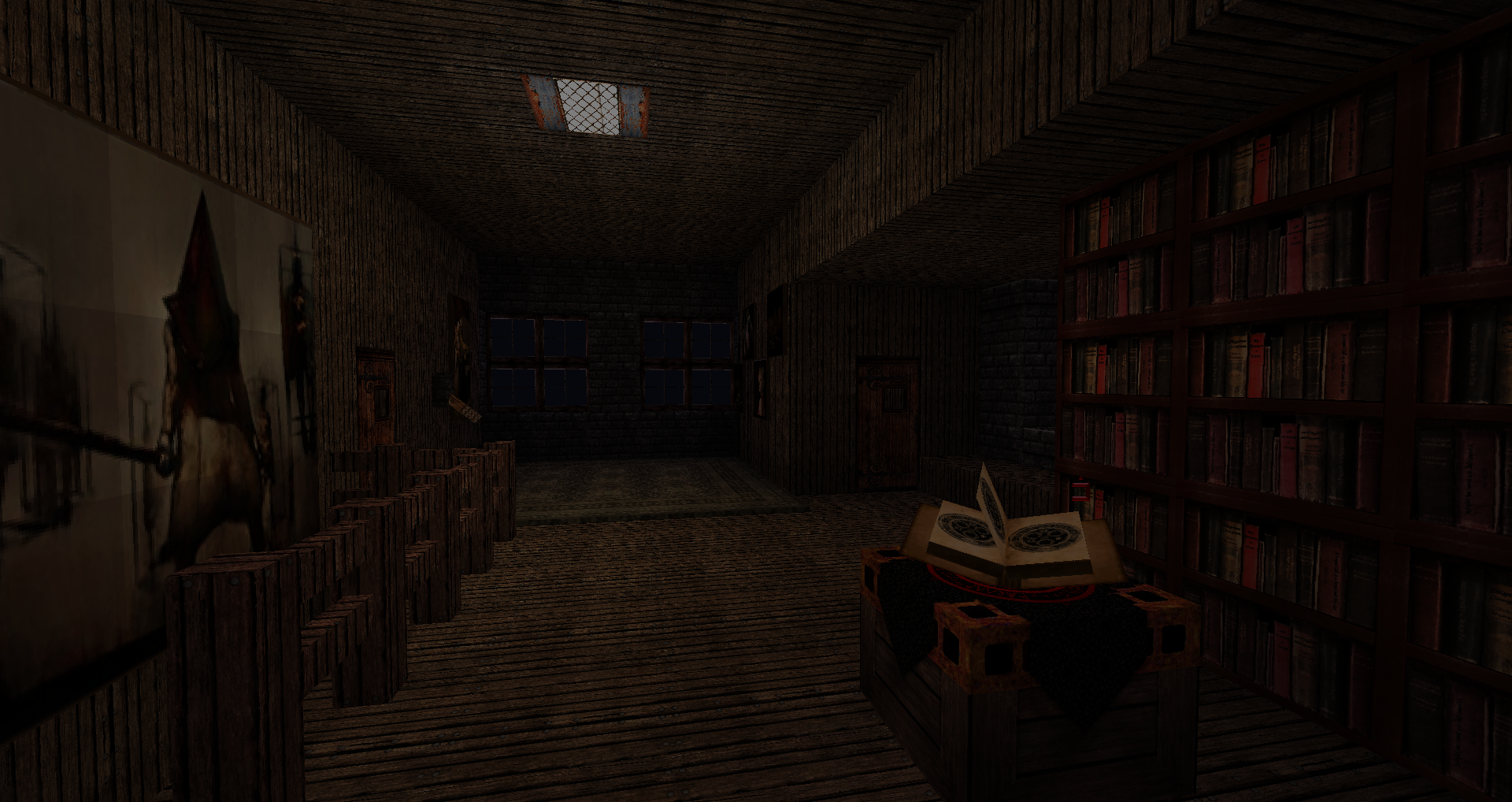 Silent Hill Haunted House Minecraft 4 By Red Xuchilbara On
