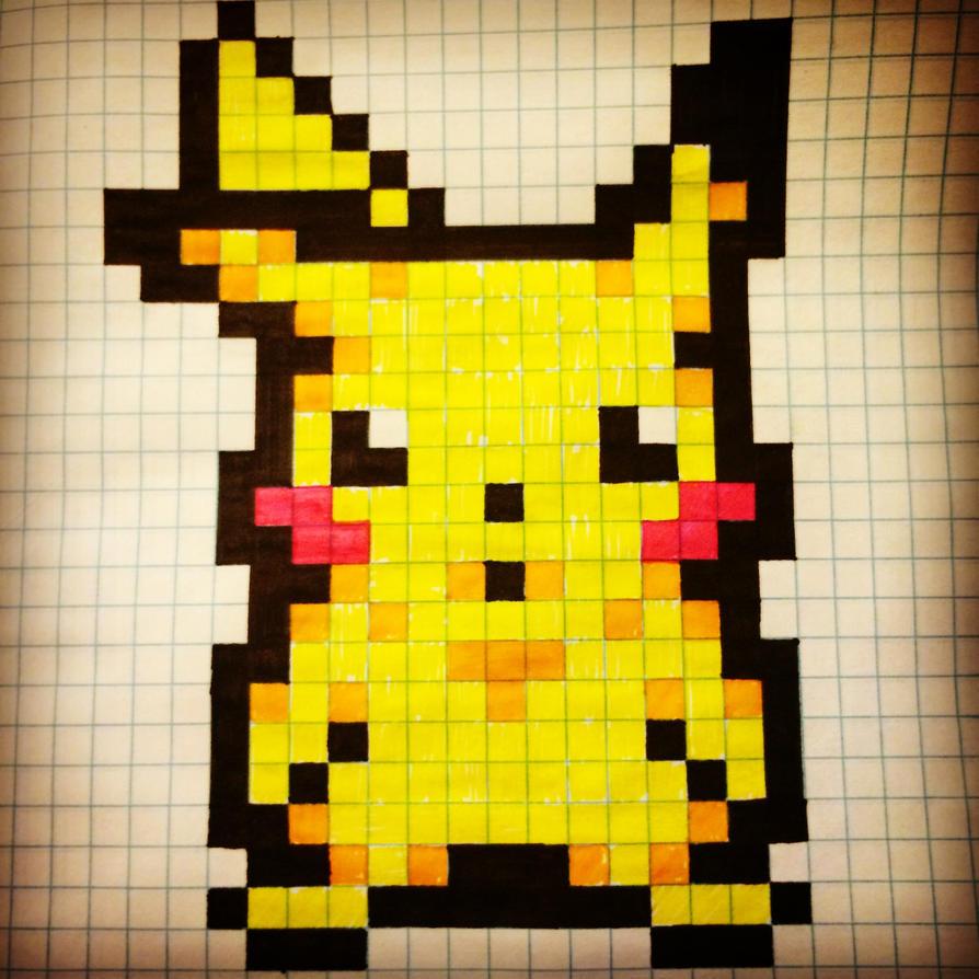 Pikachu (Pixelated #1) By JoshuaWiesner On DeviantArt
