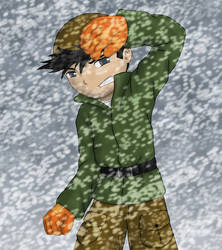 Numbuh 60 in a blizzard by bizarro4