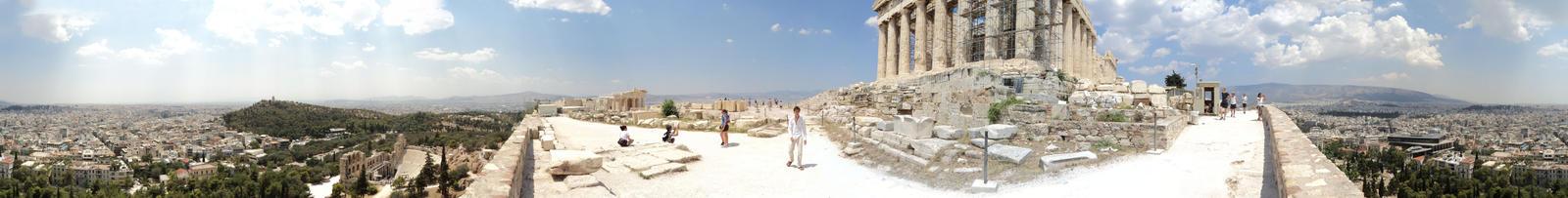 Parthenon Panorama by Gabirules54