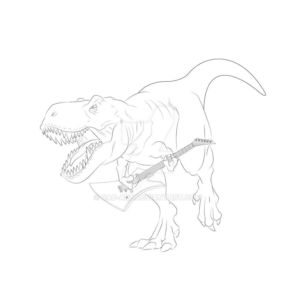 Rockin Rex by CAB-Art