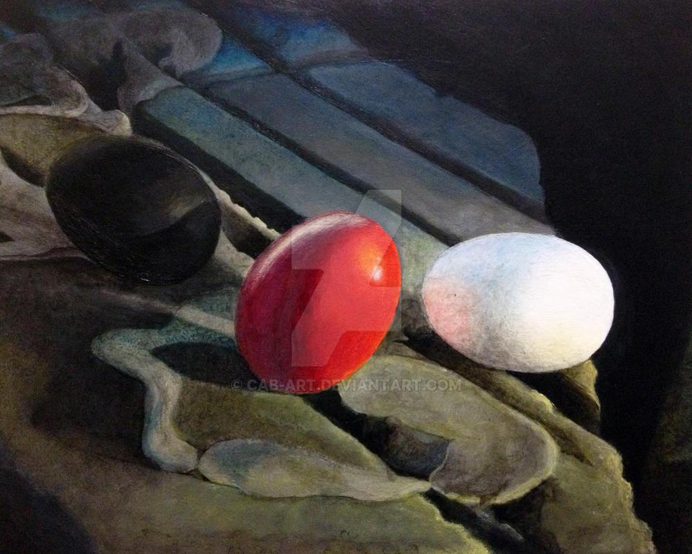 3 Eggs by CAB-Art