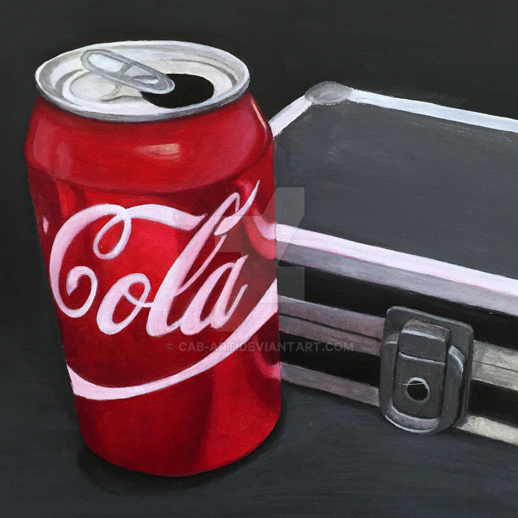 Can of Coke by CAB-Art