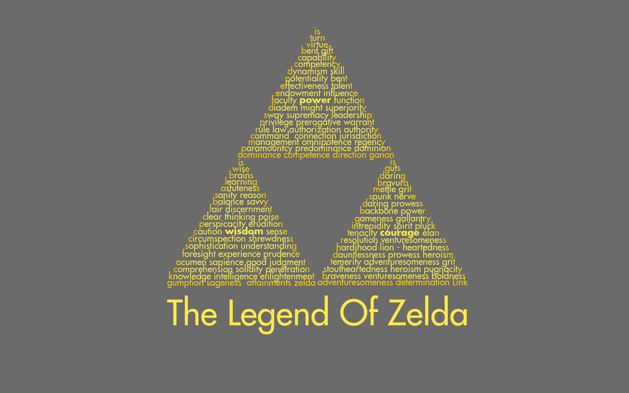 The Legend Of Zelda Triforce Wallpaper By Kamaltmo On Deviantart