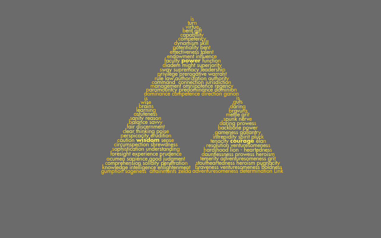 Triforce Wallpaper by Kamaltmo