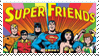 Super Friends Fan Stamp by JRWenzel