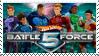 Hot Wheels Battle Force 5 Fan Stamp by JRWenzel