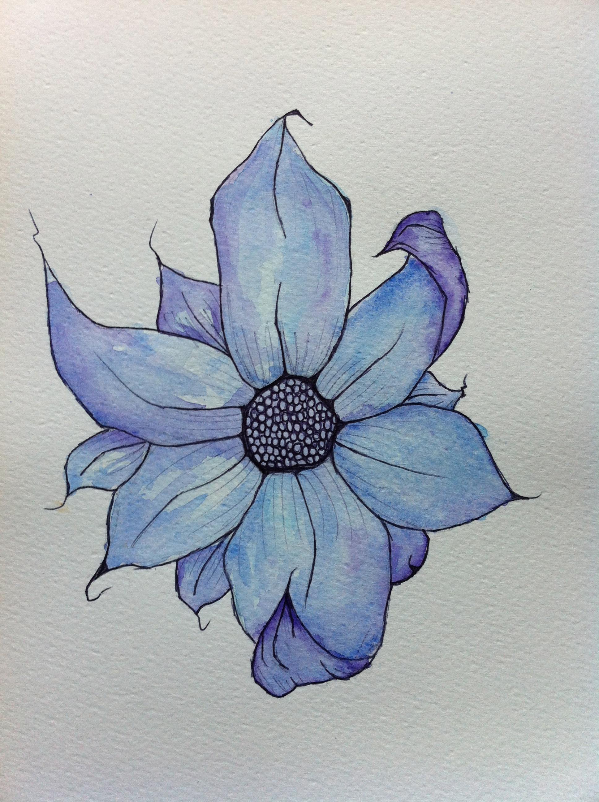 Brandon Boyd Flower Watercolour by Cogs90 on DeviantArt